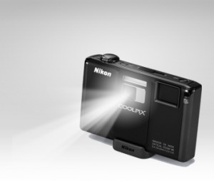S1000pj digital camera w/built-in projector